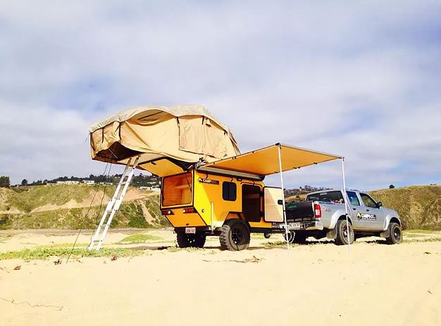 Crea tu zona de camping con CampBox